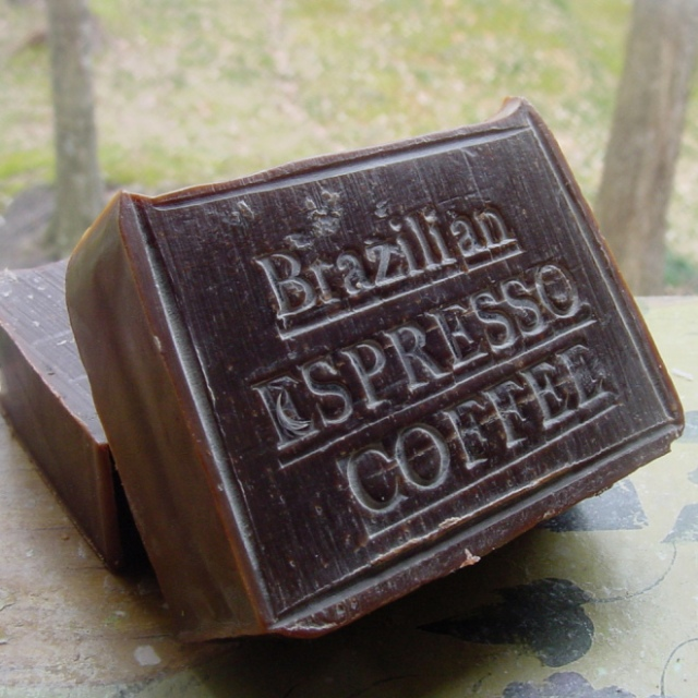Brazilian Espresso Coffee Soap from Natural handcrafted Soap